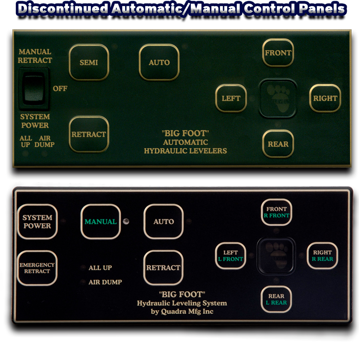 Discontinued Automatic / Manual Control Panels